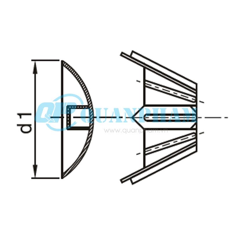 Búp sen và đĩa Spread Anchors 2