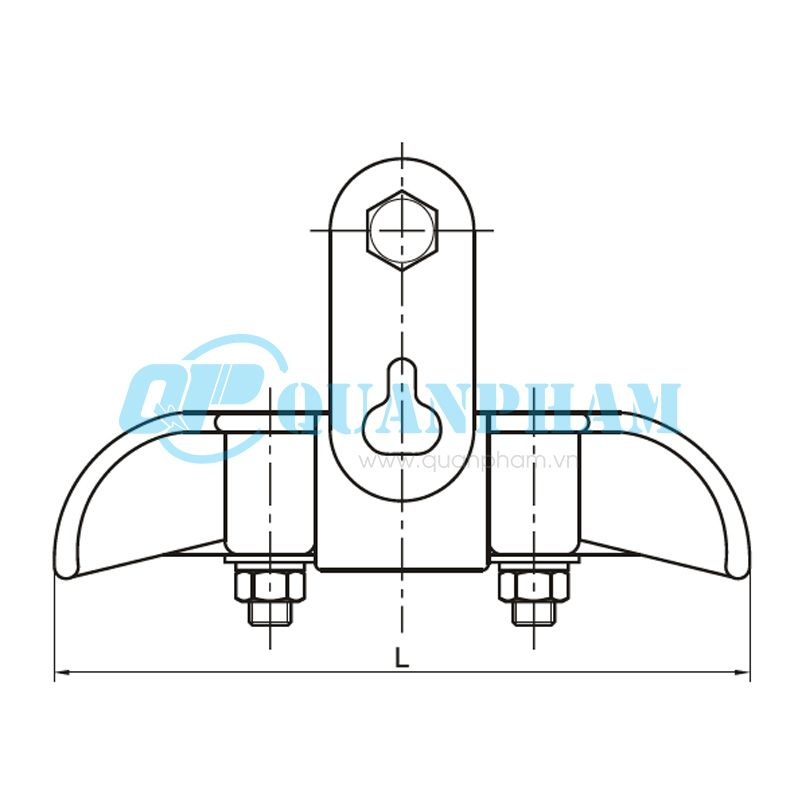 Khóa đỡ dây ACSR Suspension Clamps (type XGZ) 1