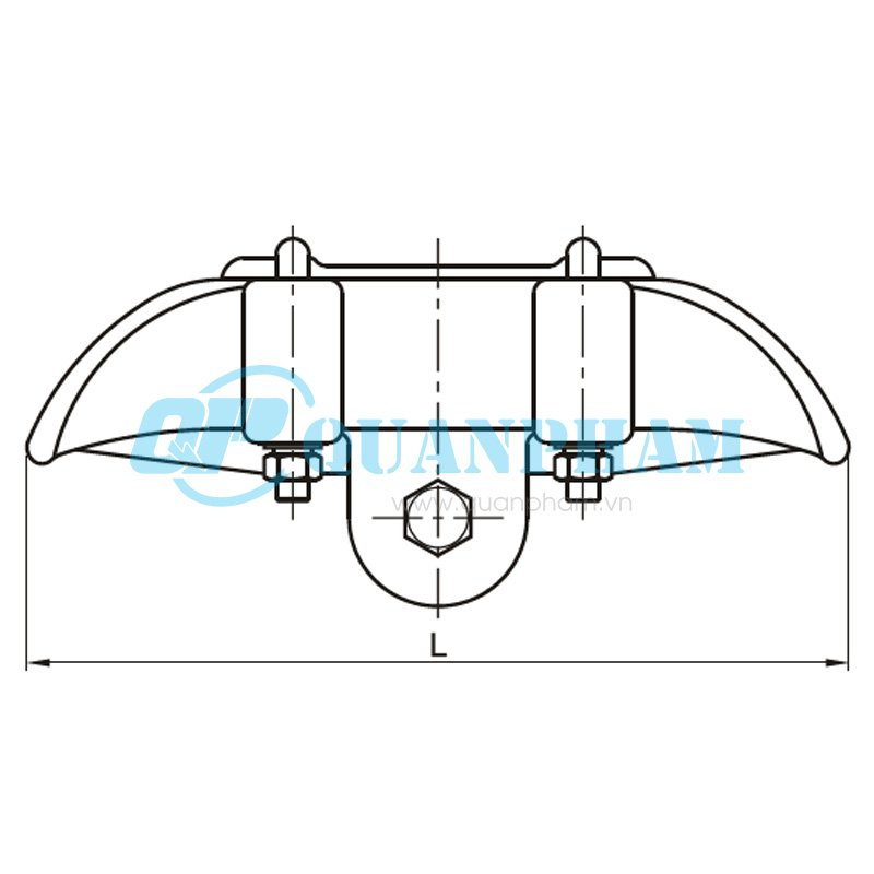 suspension clamps  type cgf