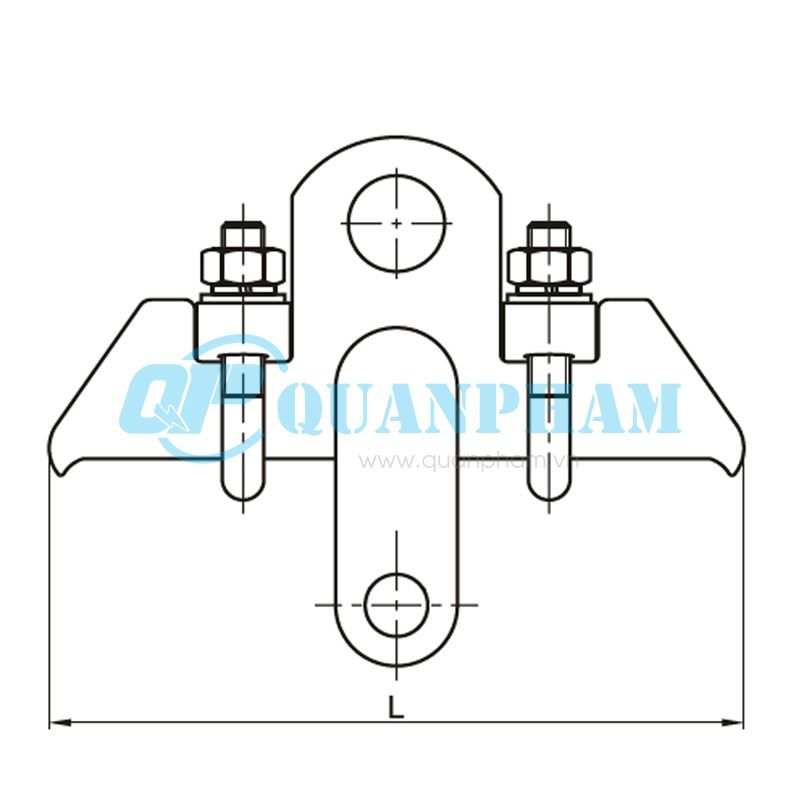 Khóa đỡ dây chống sét Suspension Clamps for Ground Wire (type DS – 7) 2