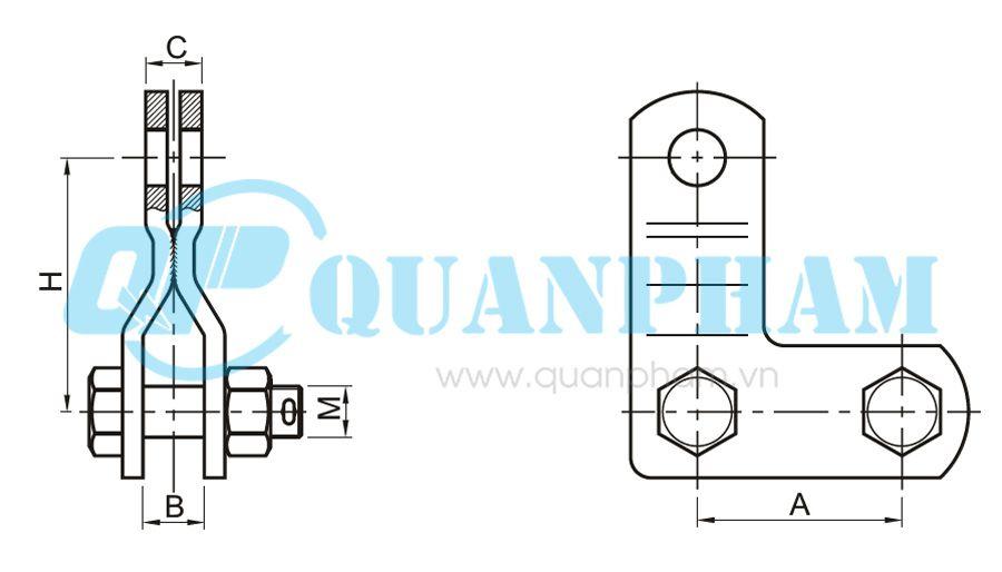 Hình 1: Mắc nối lắp ráp (NR) (Ảnh: quanpham)