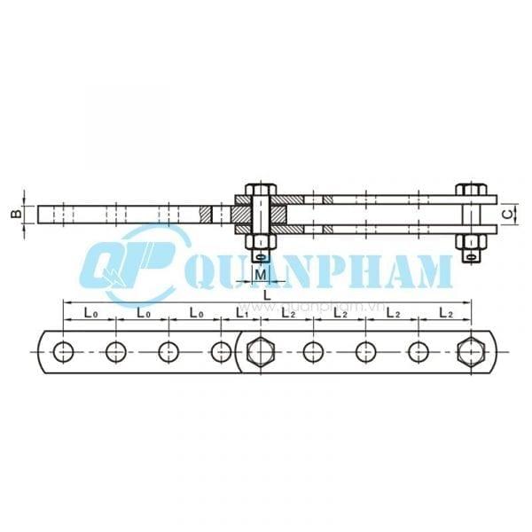 Mắc nối trung gian điều chỉnh Adjuster Plates (type ND) 2