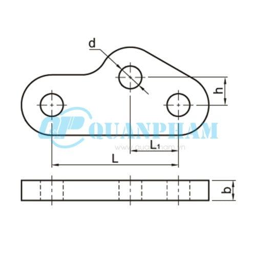Hình 1: Mắc nối trung gian điều chỉnh (QY) (Ảnh: quanpham)