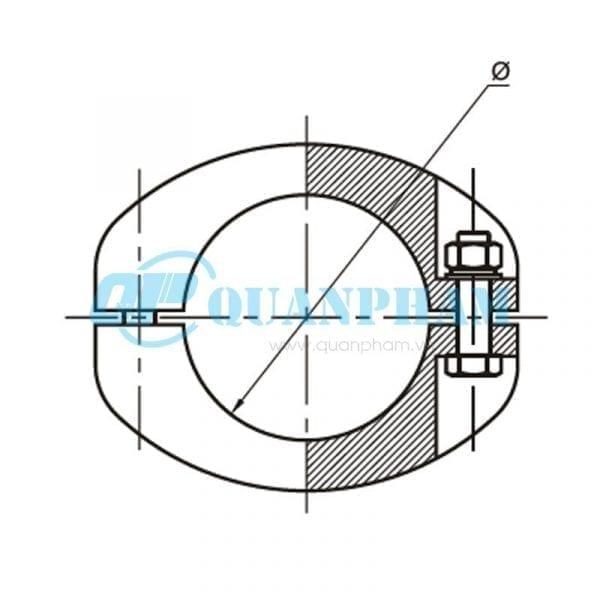 Nối thanh cái (ngoài) Tubular Bus-bar Joint (outside – type MJ) 1