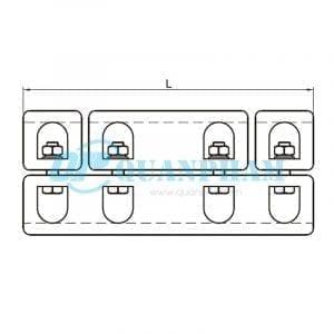 Nối thanh cái (ngoài) Tubular Bus-bar Joint (outside - type MJ) 2