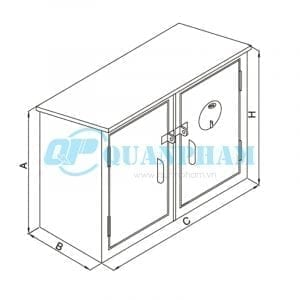 Thùng điện kế và cầu dao Measuring and Distribution Boards 1