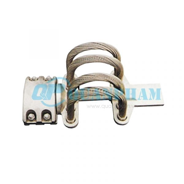 Thanh nối cái Flexible Clamps for Tubular Bus-bar (type MGS – 0°) 3