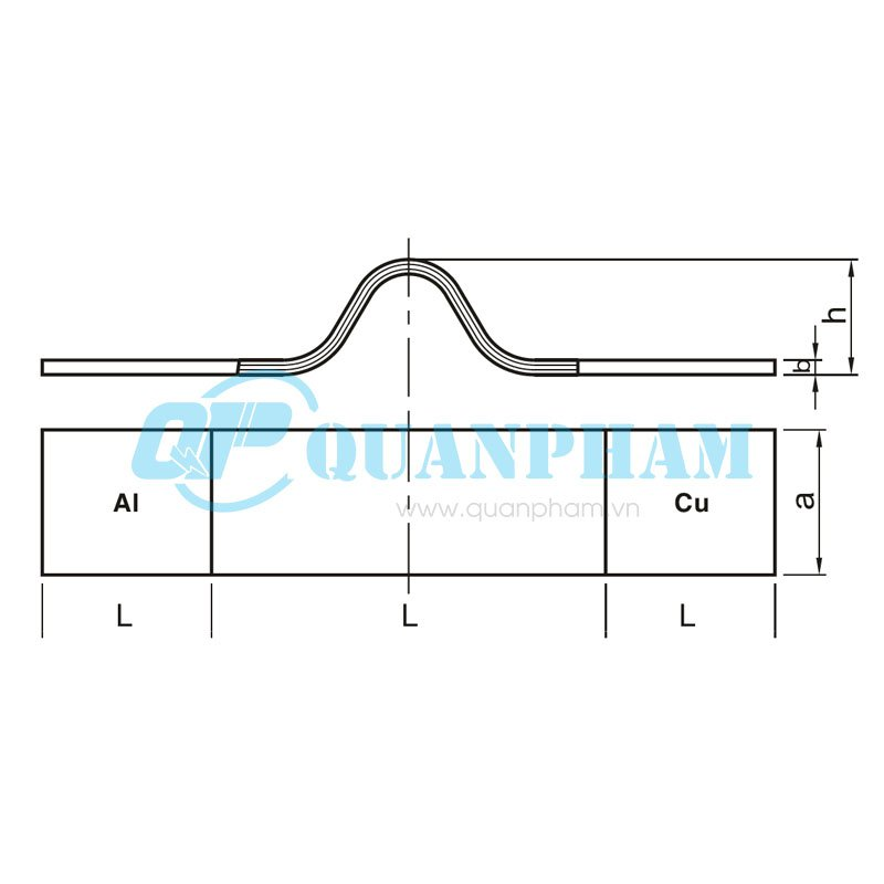 Thanh nối dẫn (nhôm – đồng) Flexible Stub Connectors (type MSS) 1