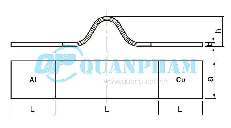 Thanh nối dẫn (nhôm - đồng) Flexible Stub Connectors (type MSS) 2