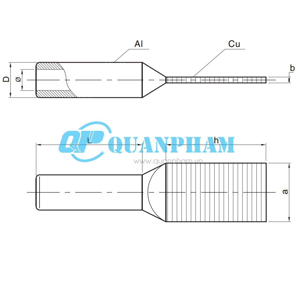 cosse ep chuyen tiep dong-nhom type SYG compression 0°