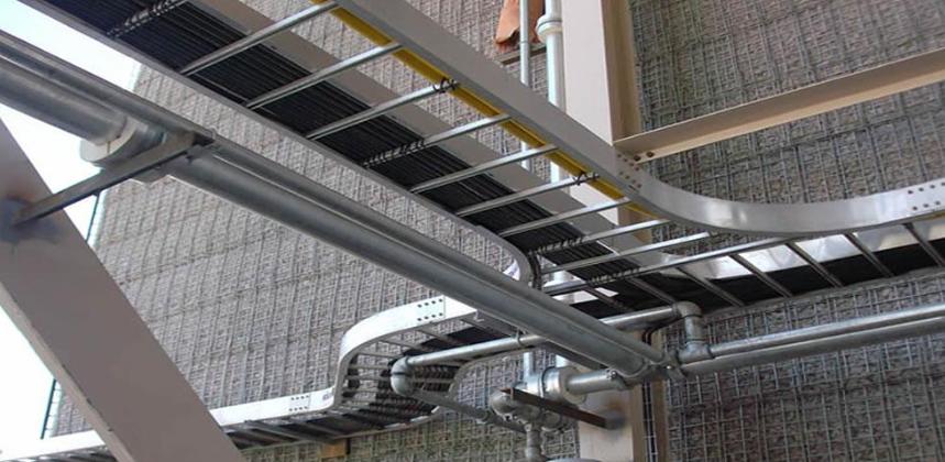 Hình minh họa:Hệ thống thang cáp
