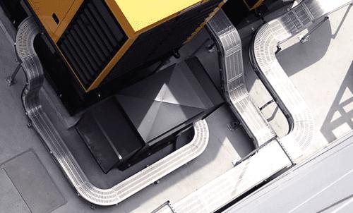 Hệ thống thang máng cáp công trình